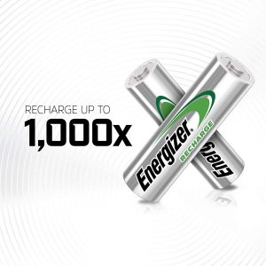 Energizer Piles Rechargeables AA, Recharge Power Plus