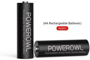 Piles Rechargeables AA 2800mAh POWEROWL