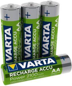 Varta 56706101404 - Piles rechargeables Accu Ready2Use Mignon AA Ni-Mh (2100 mAh)